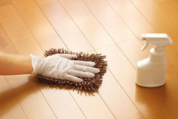写真:掃除