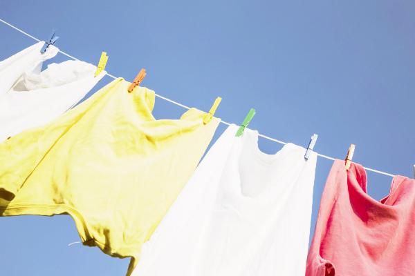 写真:洗濯